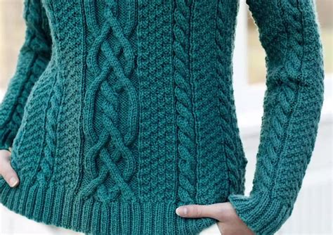 sweaters designs for the turns and twists of aran sweater design