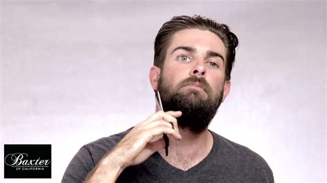 how to trim a beard 2 most popular beard styles youtube full beard grooming by baxter of california youtube