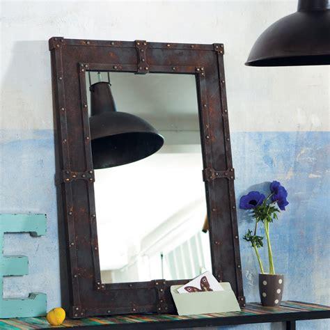 Le Industrie Look by Industrie Chic Maison Du Monde Spiegel Aus Holz