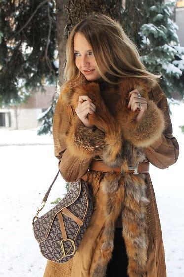 Dress Jumbo Rani romana c barney s faux fur jacket chanel