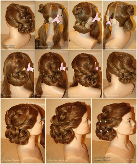 diy hairstyles for formal events wonderful diy elegant evening hairstyle