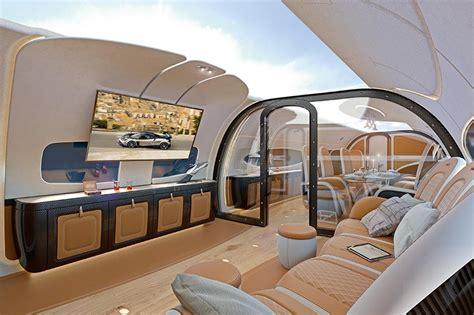 pagani encircles interior  airbus infinito cabin