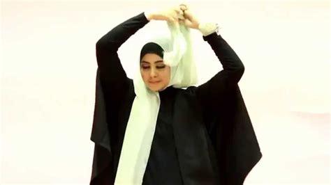 tutorial hijab pesta risty tagor tutorial hijab risty tagor cantik ke kantor youtube