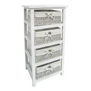 wicker drawers ebay