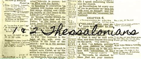 Consecration Sermon Outline by 1 Thessalonians Dunn