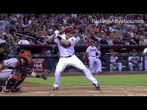 paul goldschmidt swing paul goldschmidt home run baseball swing slow motion