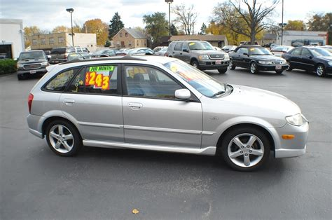 2003 mazda protege 5 silver manual sedan car sale