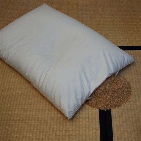 organic millet husk pillow ecoshop at the