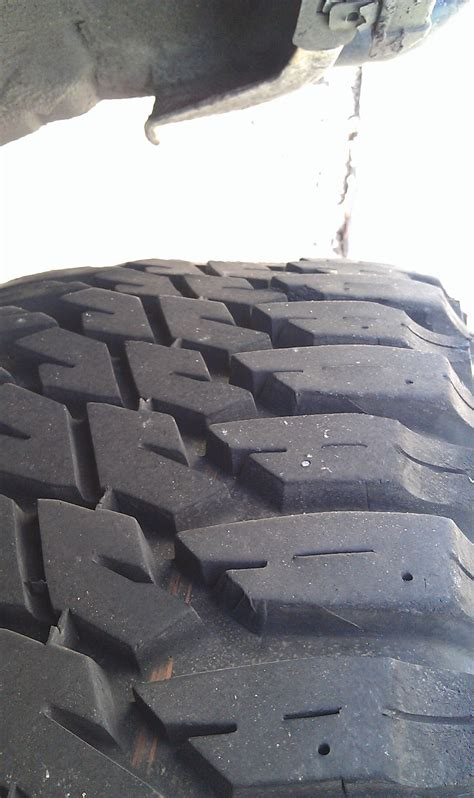 type  tire wear pics