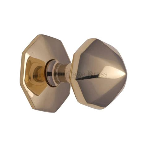 Center Door Knobs by External Hardware Door Knobs Faceted Centre Door Knob