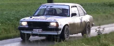 Old Audi Rally Cars by Old Opel Rally Car Attacks A House But The House Finishes