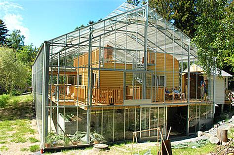 how do i build a greenhouse in my backyard naturhus an entire house wrapped in its own private