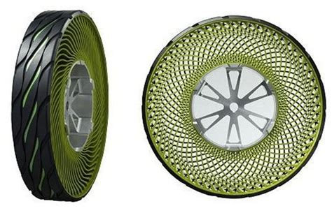 Bridgestone Airless Tires by Bridgestone Airless Tire Puncture Proof Tech On The Way