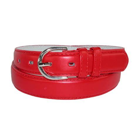 womens leather 1 1 8 inch dress belt by ctm 174 dress belts