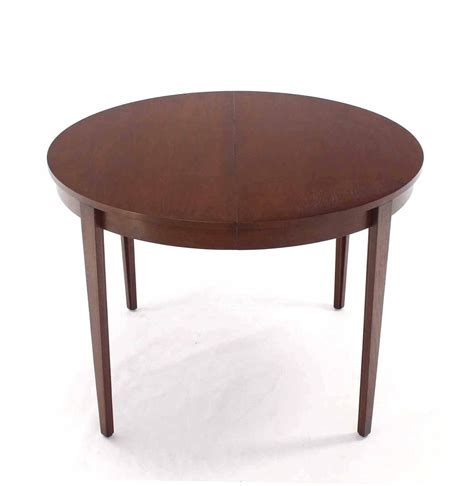 dining room tables with extension leaves round dunbar dining table with four extension leaves for