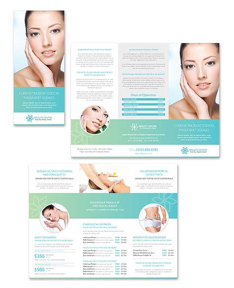 beauty salon brochure template spa salon tri fold brochure template