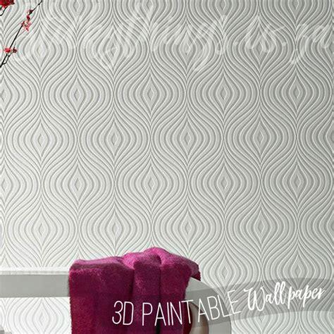 wallpaper 3d embossed paintable curvy textured wallpaper geometric 3d embossed