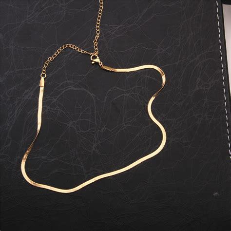 cadenas de oro mujer modelos venta al por mayor modelo de gargantilla de oro compre
