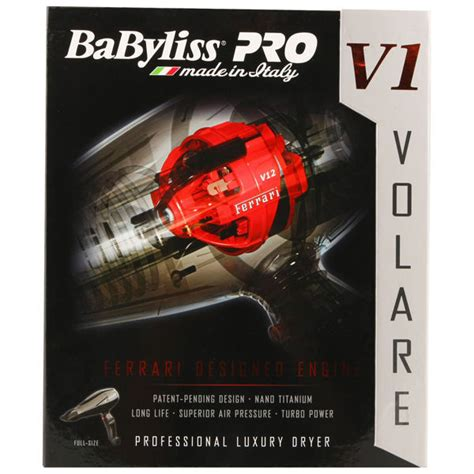 Babyliss Hair Dryer V1 babyliss pro volare v1 dryer black 2200w free