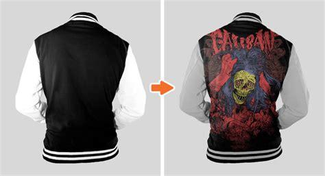 varsity jacket template psd sports jersey mockup template pack by go media