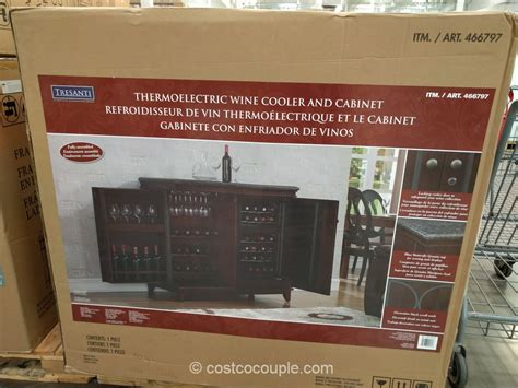 costco wine cabinet granite top tresanti saffron kitchen island quicua com