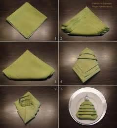 christmas tree napkin folding tutorial pictures photos