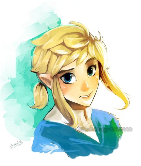 zelda link with black hair link u by kim sukley on deviantart