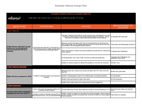 excel business plan template best photos of annual marketing plan template excel