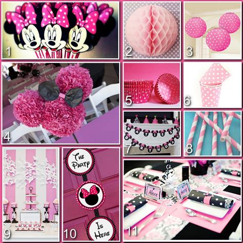 Minnie Mouse Birthday Decoration Ideas by Disney Donna Magical Blogorail Minnie Mouse