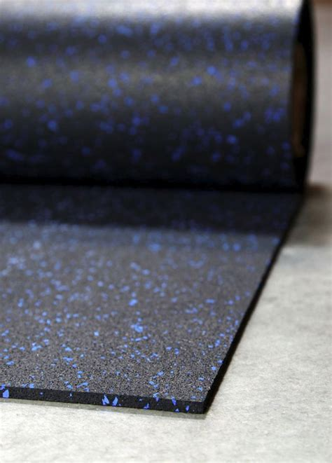 what is the best rolled rubber flooring thickness