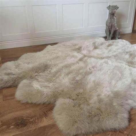 luxury sheepskin rug luxury sexto sheepskin rugs by cowshed interiors notonthehighstreet