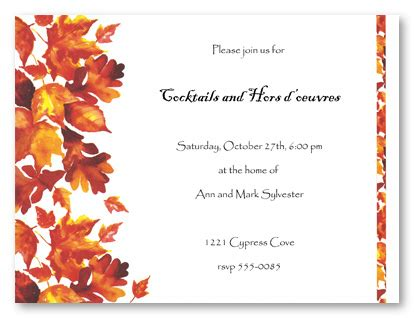 free printable fall invitation templates find your fall wedding themes parte one