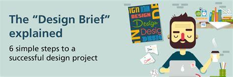 design brief steps the design brief explained 6 simple steps to a