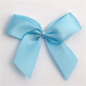 Beach Theme Decorations For Home Blue Self Adhesive Satin Ribbon Satin Bows Favour This