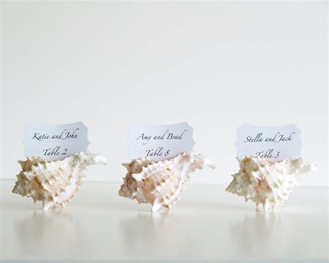 unique place cards beach wedding place cards wedding table by fairyfolkweddings