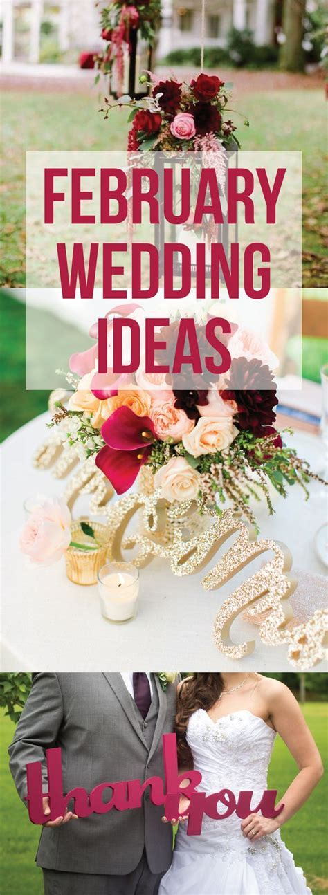 Best 25  February wedding ideas on Pinterest   Color