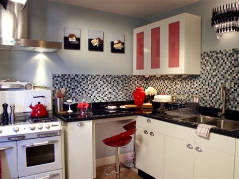 retro kitchen cabinets pictures options tips ideas hgtv cucine vintage idee arredo