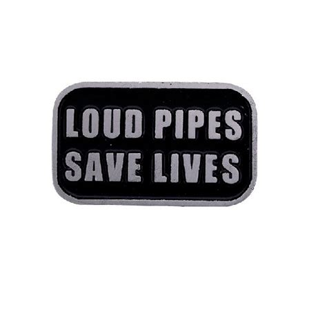 trofeshop loud pipes save lives pin
