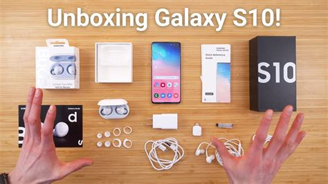 galaxy  unboxing whats included youtube