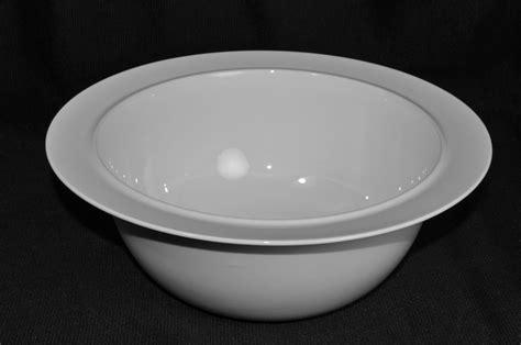 alessi la tavola alessi la tavola serving bowl white by ettore