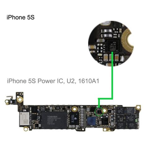 Ic Rf Iphone 5s usb charging ic 1610a1 1610 for iphone 5s repair service