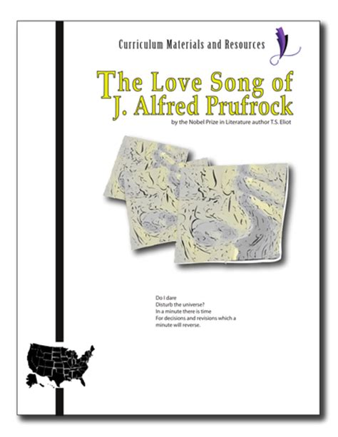 themes of the lovesong of j alfred prufrock quot the love song of j alfred prufrock quot complete unit