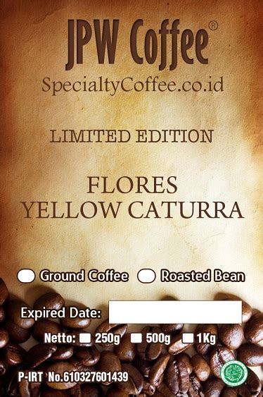 Terlaris Kopi Arabika Java Preanger Honey Process 100 Gram kopi flores yellow caturra specialtycoffee co id