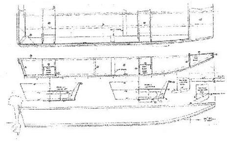 jon boat drawing jon boat blueprints plans wooden ski boat no1pdfplans