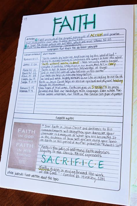 scripture journal templates one of a scripture journal tutorial part 3