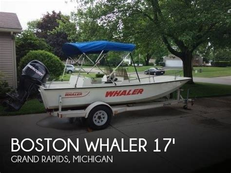 boston whaler boats michigan boston whaler 17 boats for sale in michigan