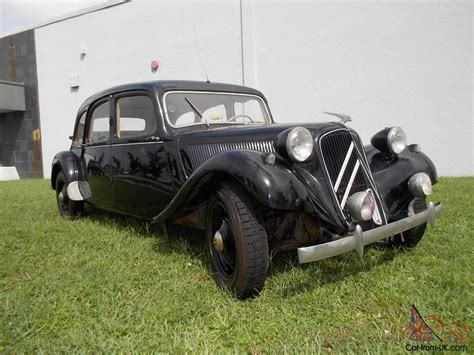 Citroen Traction Avant For Sale by 1955 Citroen 11 Traction Avant