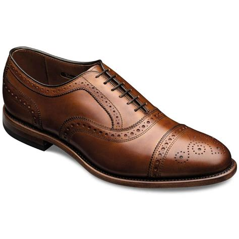 allen edmonds oxford shoes strand cap toe lace up oxford mens dress shoes by allen