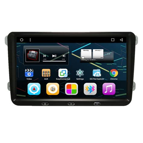 ix android 9 quot android autoradio car stereo audio unit skoda fabia yeti superb octavia roomster