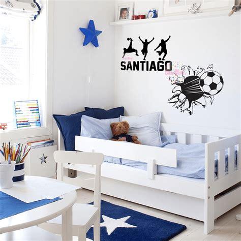 vinilo decorativo infantil vinilo decorativo infantil pelota de futbol rompe pared